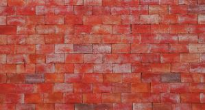 Red brick wall rough surface texture material construction background. Red brick wall rough surface texture material background royalty free stock image