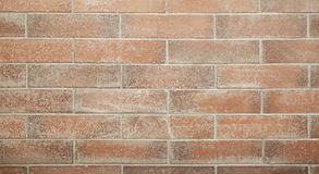 Red brick wall, seamless blocks pattern, texture background or wallpaper use.  royalty free stock photos