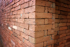 Red brick wall. Stock Images