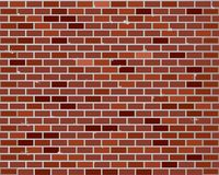 Red brick wall seamless Royalty Free Stock Image