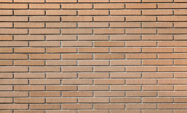 Red brick wall, small scale background texture Stock Photography