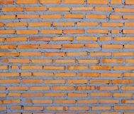 Red brick wall is still being built, Texture background stock illustration