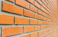 Red brick wall. Red brick stone wall background Stock Image