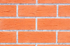 Red brick wall texture Stock Image