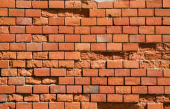 Red brick wall texture.  Stock Images