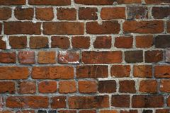 Red brick wall texture Stock Photography