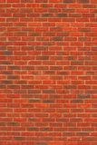 Red Brick Wall Texture. Red brick wall Royalty Free Stock Photography