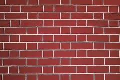 Red brick wall texture. Closeup view Royalty Free Stock Photos