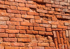 Brick wall. Red brick wall texture background Royalty Free Stock Images