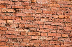 Brick wall. Red brick wall texture background Stock Photography