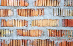 Red brick wall texture background. Stock Image