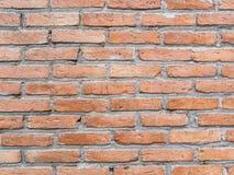 Red brick wall stock image