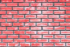 Red brick wall texture background Royalty Free Stock Image