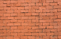 Red brick wall texture background. The Red brick wall texture background Stock Photo