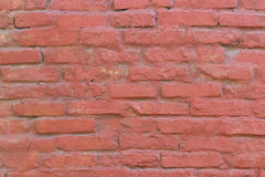 Red brick wall texture background.  Royalty Free Stock Images