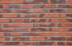Red brick wall texture background. royalty free stock image