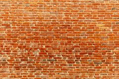 Red brick wall. Texture of . Background of . Brick wall texture for render royalty free stock images