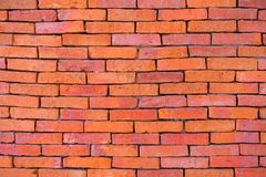 Red Brick Texture Background stock photography