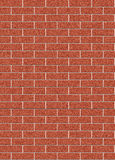 Red brick wall texture connects endlessly. Red brick wall seamless connects endlessly Stock Photos