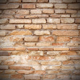 Red brick wall texture grunge background Royalty Free Stock Image