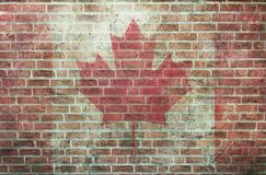 Red brick wall texture grunge background may use to interior design stock photography
