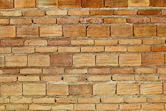 Red brick wall texture grunge background to interior design. Royalty Free Stock Photo