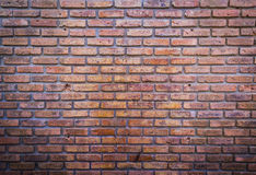 red brick wall texture grunge background Stock Photography