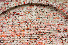 Old red brick wall texture background Royalty Free Stock Photography