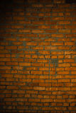 Red brick wall texture grunge background with vignetted corners, may use to interior design Stock Image