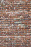 Red brick wall texture with matt film effect Stock Photos