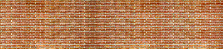 Red Brick wall texture. Background stock images