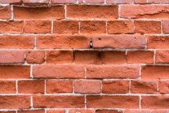 Red brick wall texture. Close up of brick wall background royalty free stock photos