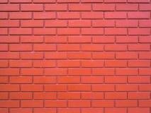 Red brick wall textured Royalty Free Stock Photos