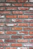 Red Brick Wall. Red Brick textured wall in Orange, California royalty free stock image