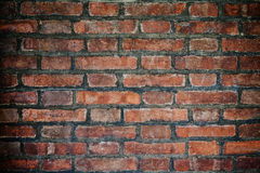 Red brick wall. Urban background Stock Image