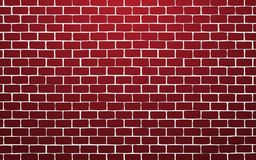 Red brick wall vector illustration background royalty free illustration