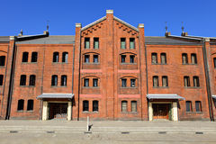 Red brick warehouse Royalty Free Stock Images