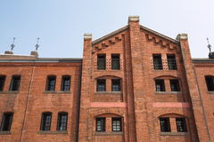 The Red Brick Warehouse Stock Image
