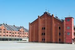 Red brick warehouse in yokohama Royalty Free Stock Photos