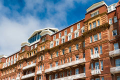 Red-bricked building Stock Images