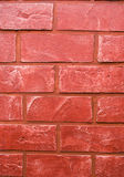 Red Bricked Wall royalty free stock photography