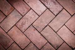 Red bricks. Old red bricks make for your background Royalty Free Stock Image