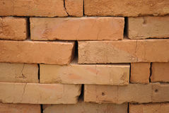 Red bricks royalty free stock photo