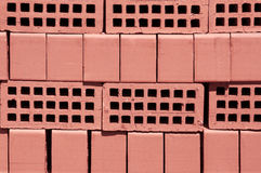 Red  bricks Stock Photo