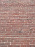Red bricks. Red brick wall looking slightly up Stock Photo