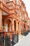 Red bricks houses in London Stock Images
