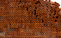 Red bricks for its construction. Stock Images