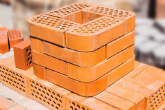 Red bricks Royalty Free Stock Photos
