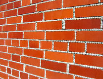 Red bricks.Texture Stock Photography