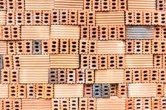 Red bricks texture Royalty Free Stock Photos